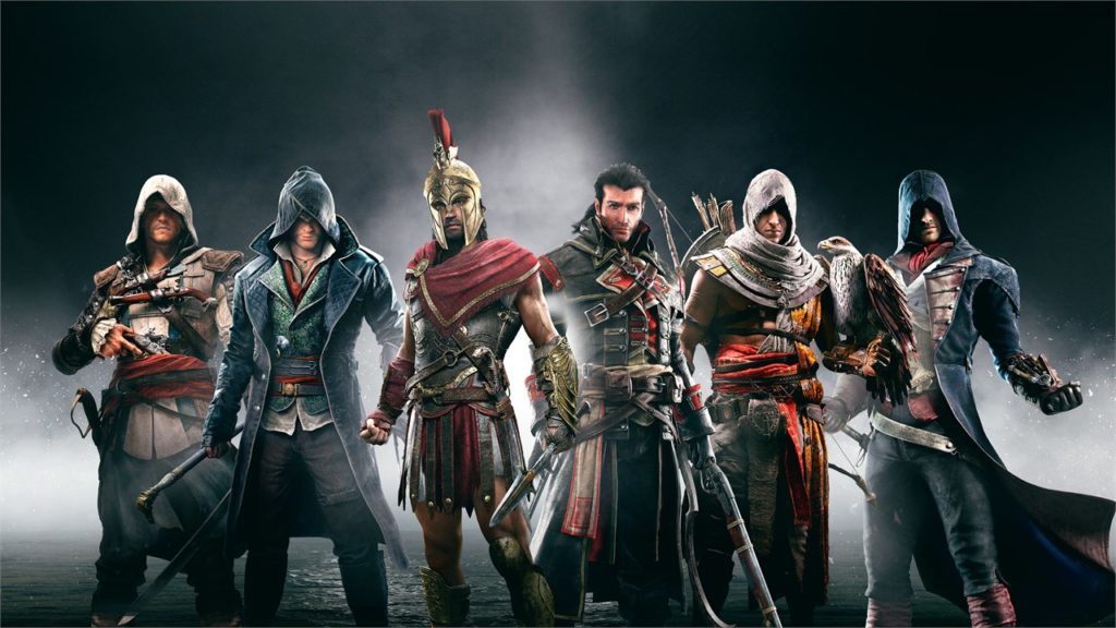 Ubisoft games - Assassin's Creed series